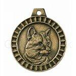Bronzen Katten Penning