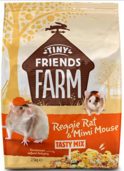 Supreme Reggie Rat & Mimi Mouse 2,5 kg