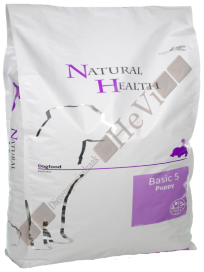 Natural Health Puppy Basic Five 12,50 kg