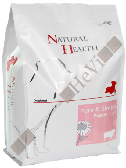 Natural Health Puppy Lam en Rijst 2,5 kg