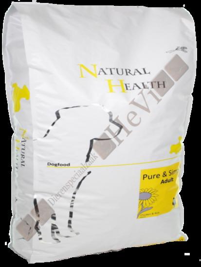 Natural Health Adult Kip en Rijst 12,5 kg