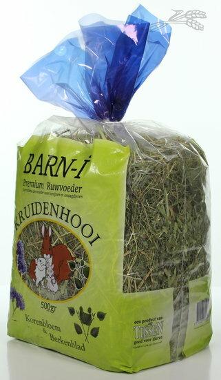 BARN-I Kruidenhooi Korenbloem & Berkenblad 500 gram