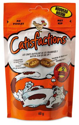 Catisfaction Kip snoepjes 60 gram