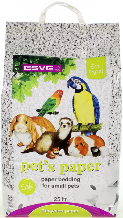 Esve Pet's Paper Bedding 25 ltr.