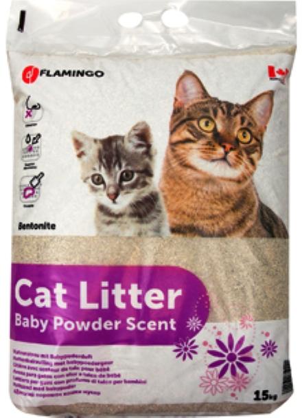 Kattenbakvulling babypoeder 15 Kg.