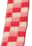 Showlijn Nylon Geblokt Roze 8 mm x 130 cm