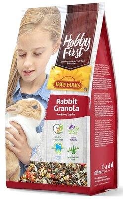 Hope Farms Hobby First Konijn Granola 800 gram