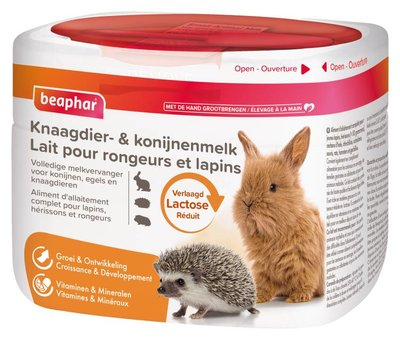 Beaphar Knaagdier en Konijnenmelk 200 gram