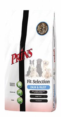 Prins Fit Selection Zalm en Rijst 15 kg.
