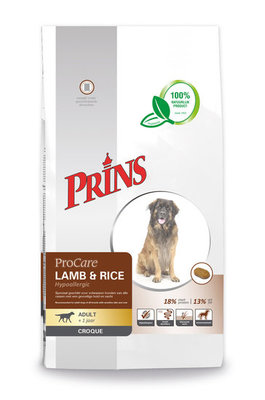 Prins Lam en Rijst Croc 10 kg.
