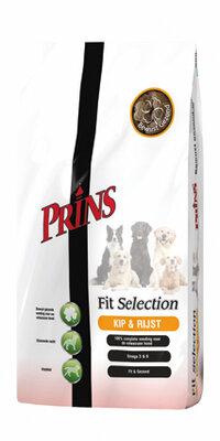 Prins Fit Selection Kip en Rijst 15 kg.
