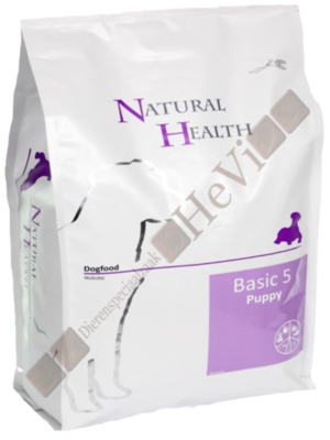 Natural Health Puppy Basic Five 3 kg