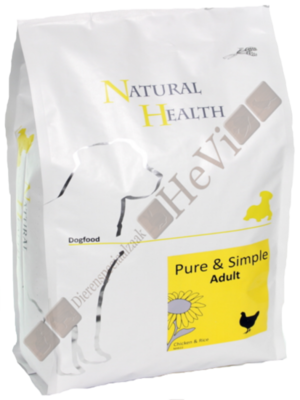 Natural Health Adult Kip en Rijst 2,5 kg