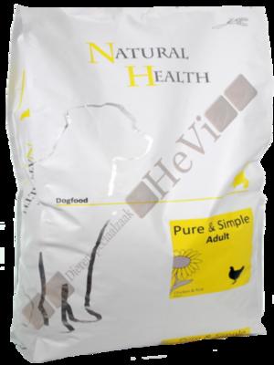 Natural Health Adult Kip en Rijst 7,5 kg