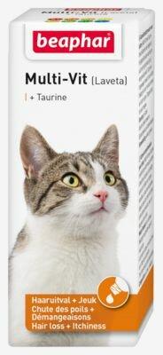 Beaphar Multi Vitamine Kat met Taurine 20 ml.