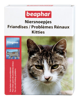 Beaphar Niersnoepjes Kitties 75 tablet