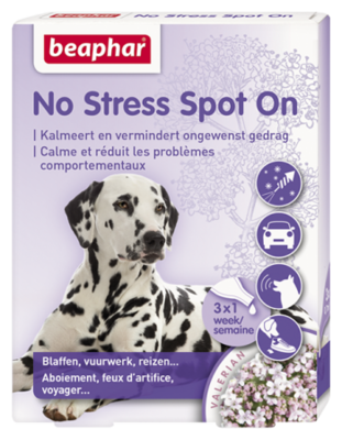 Beaphar No Stress Spot on Hond 3 Pipet