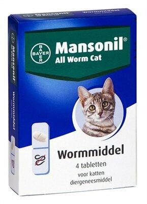 Bayer Mansonil All Worm Kat 4 tablet
