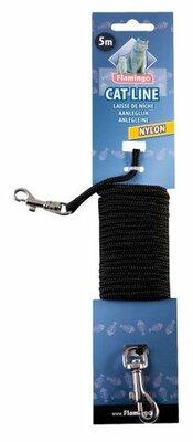 Nylon Lijn Zwart 3mm 5 meter