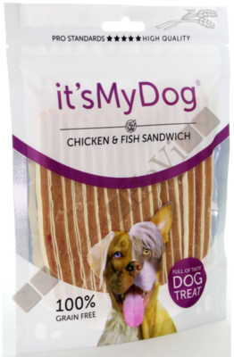 It's My Dog Chicken & Fish Sandwich 85 gram