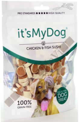 It's My Dog Chicken & Fish Sushi 85 gram