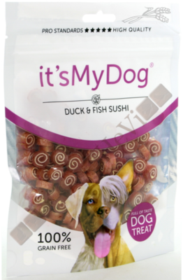 It's My Dog Duck & Fish Sushi 85 gram