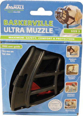 Muilkorf Baskerville Ultra Muzzle Nr. 4