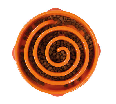 Outward Hound Fun Feeder Orange 29 cm