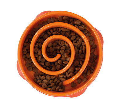 Outward Hound Fun Feeder Mini Orange 22 cm