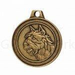 Bronzen Rashondenpenning Bouvier