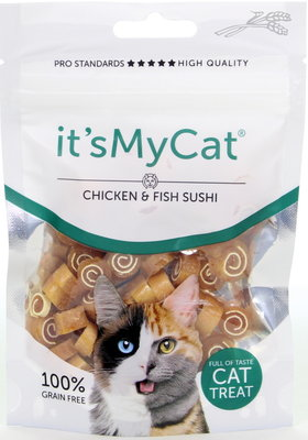 It's My Cat Chicken & Fish Sushi 50 gram