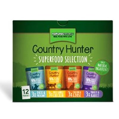 Natures Menu Kat Country Hunter Multipack pouch 12 stuks