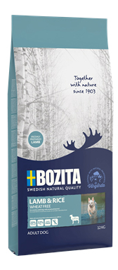 Bozita Lamb & Rice Wheat Free 12 kg