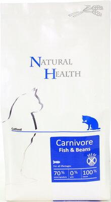 Natural Health Kat Fish & Beans 2,5 kg