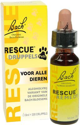 Bach Rescue Druppels Voor Dieren 10ml.