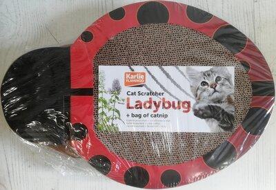 Kattenkrabplank Ladybug Met Catnip