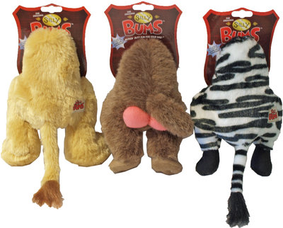 Kong Pluche Silly Bums Safari Met Piep S