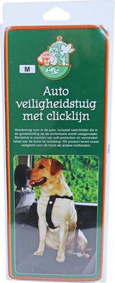 Veiligheidstuig Voor In De Auto Zwart 25 mm, Maat M