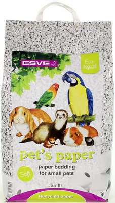 Esve Pet's Paper Bedding 10 ltr.