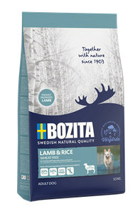 Bozita Lamb & Rice Wheat Free 3,5 kg