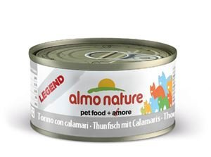 Almo Nature Tonijn Met Inktvis blikje 70 gram
